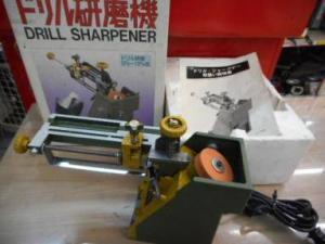 ドリルシャープナー 研磨機 削り 研ぐ 砥石 中古品