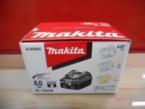 マキタ バッテリー BL1860B 18V 6.0Ah 新品 未使用品
