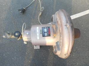 オイルバーナー K4 乾燥 椎茸 電動 200V 動力