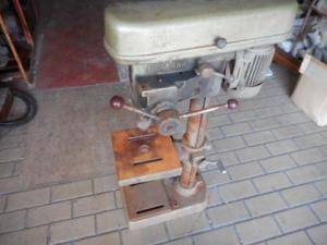 卓上 ボール盤 キタガワ 穴あけ 木工 鉄板 アルミ 工作 200V 中古品