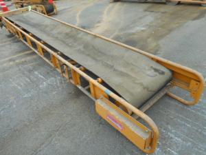 ベルトコンベアー 1段 運搬 中古品 大型 ベルト