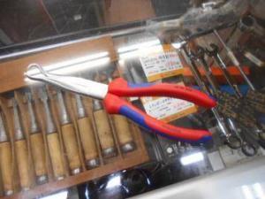 ほとんど新品! KNIPEX メカニックプライヤー 38 95 200 電気工事 作業 中古品