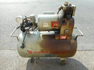 日立 コンプレッサー SP-5S 100V 古い 電動 小型 ベビコン 中古品