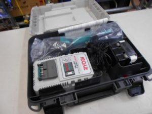 リョービ レシプロソー BRJ-120 バッテリ 充電器 セット 未使用品