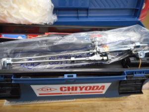 千代田 溶断ボックス 切断機 溶接 ガス アセチレン 調整器 新品 未使用品