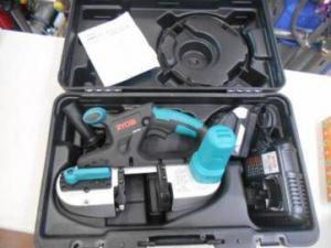 リョービ スチールバンドソー BSB-180 充電器 バッテリ付 未使用品