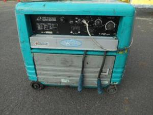 デンヨー DENYO エンジンウェルダー ガソリンエンジン溶接機 GAW-180ES コマ一部不良あり 中古品