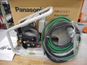 パナソニック ワイヤー送給装置 YW-35KB3 溶接 半自動 送る ワイヤー 新品 未使用品