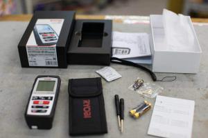 津山店です。津山市のお客様から、リョービ レーザー距離計 LDM-600 新品未使用品 を、買取らせて頂きました。