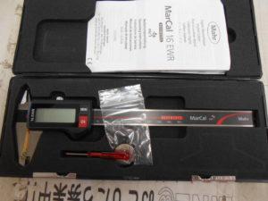 津山店です。 津山市のお客様から、MarCal デジタルノギス 16EWR 4103310 測定器 未使用品 を、買取りさせて頂きました。