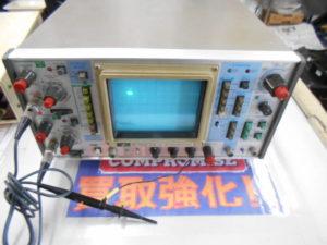 岡山店です。 岡山市のお客様から、岩通 デジタルストレージスコープ SS-5802 通電確認 中古品 を、買取りさせて頂きました。