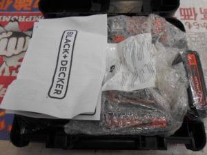 岡山店です。 岡山市のお客様から、B&D オートマチックドリルドライバー AUTO01K2 未使用品 を、買取りさせて頂きました。