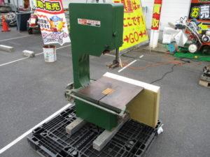 津山店です。 津山市のお客様から、リョービ バンドソー BS-360 大工道具 200V 木工 帯のこ を、買取りさせて頂きました。