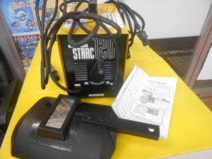 岡山店です。 岡山市のお客様から、 スズキット スターク120 SSC-122 通電確認 面付き 中古品を、買取りさせて頂きました。