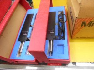 岡山店です。 岡山市のお客様から、 ミツトヨ リニアゲージ LG-1100 セット 通電 中古品を、買取りさせて頂きました。