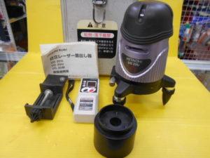 岡山店です。 岡山市のお客様から、 日立 レーザー墨出し器 UG20U 受光器付き 中古品を、買取りさせて頂きました。