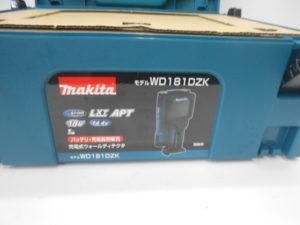 マキタ 充電式ウォールディテクタ WD181DZK 本体 ケース 取説 未使用品