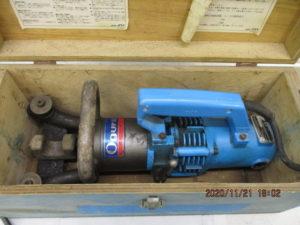 オグラ 鉄筋ベンダー HBB-25 通電確認 曲げき 中古品