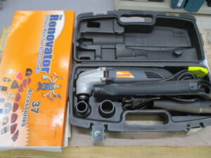 ショップジャパン マルチツールキット WT02234 大工道具 電動 コード式 中古品
